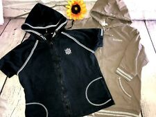 2 Active Women's Full Zip Short sleeve Hoodies Sz. X-large Vertigo BCBG EUC