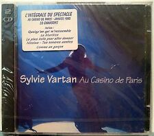 SYLVIE VARTAN AU CASINO DE PARIS 1995 LIVE 2-CD 33 SONG PHILLIPS 528370-2 SEALED