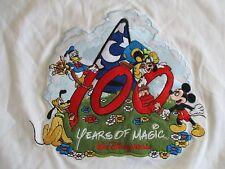 100th Years of Magic Walt Disney Mickey Mouse Donald Pluto Goofy (Xl) T-Shirt