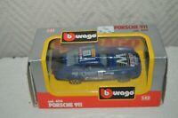 VOITURE BURAGO PORSCHE 911   DIE-CAST NEUF BOITE 1/43 CAR AUTO 4114