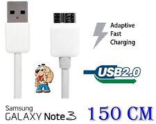 Cavo USB 2.0 Cavetto Dati Carica per Samsung Galaxy S5 G900F Note 3 N9005 BIANCO