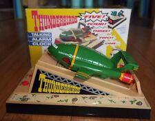 MIB Vintage Thunderbirds Thunderbird 2 Talking Alarm Clock Rare Wesco 1992 Mint