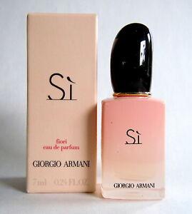 Giorgio Armani Si Fiori  Eau de Parfum Miniatur 7ml OVP