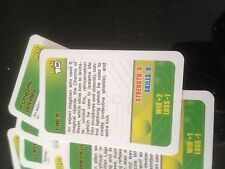 Ben 10 Game, Set of 27 Fiches. Genuine Cartoon Network GAME parts