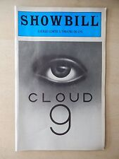 November 1981 - Theatre De Lys Playbill w/Ticket - Cloud 9 - Don Amendolia
