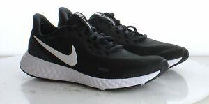 23-20 New $65 Men's Size 8.5M Nike Revolution 5 Running Shoe in Black