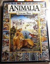 ANIMALIA by Graeme Base, FiRST EDITION in Dustjacket. 1996