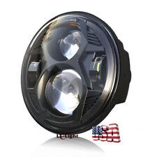 2020 Newest Black 5.75'' 5-3/4 inch LED Hi/Lo Beam Headlight for Motorcycle Bike