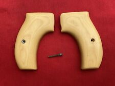 Smith & Wesson K frame round butt Ivory Micarda Custom made Grips