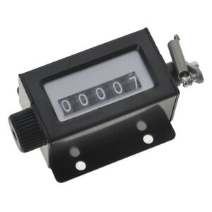 GOGO 5 Digits Mechanical Pulling Stroke Counter Resettable Tally Hand Clicker