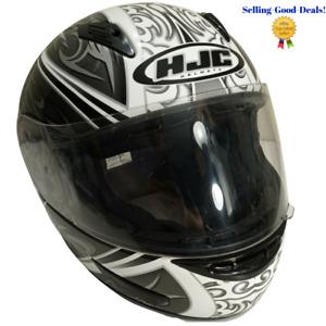 HJC Black Gray Draco CL-15 Snell Dot Full Face Helmet Size Small