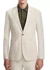 Hardy Amies 7010 Men's Ivory Slim Fit Sport Coat Sz 40R $695