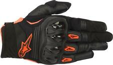 ALPINESTARS MEGAWATT GLOVES BLACK/ANTHRACITE/ORANGE XL 3565018-1056-XL
