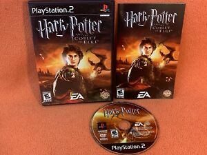 Harry Potter Goblet of Fire Sony PlayStation 2 PS2 Black Label Game Complete!