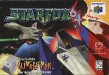 Star Fox 64 N64 Nintendo 64 Cartridge only