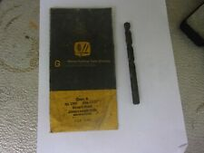 """New listing 6 Pc.13/32"""" X 5"""" Morse # 1330 Straight Shank H. S. N O S U S A Drill Bitts"""