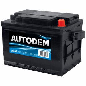 Batterie tourisme Autodem Autodem AD09 72Ah 600A