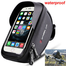 Waterproof Motorcycle Bike Cycling Handlebar Mount Holder Cell Phone Case Bag