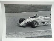 Eddie Cheever - Talbot Ligier Gitanes Matra JS 19 signed Formula 1 from 1982 b/w
