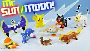 2017 McDonald's Happy Meal Toys Pokemon Sun Moon SEALED Pick Your Favorite!