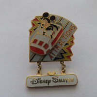 Disney Salutes Attractions Pin