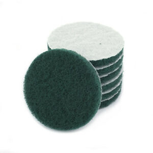 5PC Industrial Scouring Pad Nylon Scouring Pad Deburring Cleaning Polishing Tool