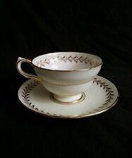 Vintage Copelands Grosvenor England china gilded tea cup & saucer