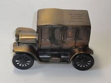 1912 PACKARD CAR COIN BANK MADE BY BANTHRICO INC FOR BELL SAVINGS