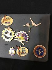Lot of 6 USA Gymnastic Pins ,