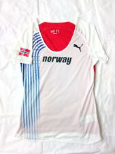 Norway National Team Puma Shirt Top Track & Field Jersey size 12 / M