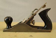 "STANLEY ENGLAND HANDYMAN  № 4 SMOOTHING PLANE IRON WOODWORKING TOOL 9¾"" x 2 ½"""