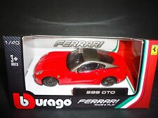 Bburago Ferrari 599 GTO Red 1/43