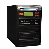 Systor 1:1 USB/SD/CF/MS Flash Memory Combo Card Duplicator - CD DVD Copier