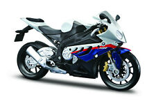 BMW S 1000 RR Blue-White scale 1:12 From Maisto