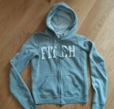 Abercrombie & Fitch grey zipped hoody size small  38in chest
