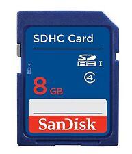 GENUINE SANDISK 8GB SDHC MEMORY CARD FAST SPEED FOR DIGITAL CAMERA SD CARD NEW