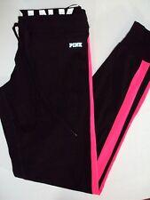 Victorias Secret PINK Leggings Yoga Pants Crops Black Ultimate XS Womens Nwt