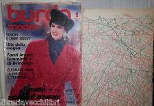 BURDA MODEN 9 SETTEMBRE 1986 Con due cartamodelli testo tedesco Moda femminile