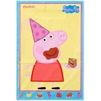 PEPPA PIG LOOT BAGS PACK OF 8 BIRTHDAY PARTY SUPPLIES