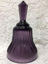 Purple Amethyst glass hand Bell ring Diamond Akro agate dinner black wedding art