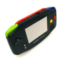 Black & Red Housing Shell Case Mix Color Buttons for Game Boy Advance