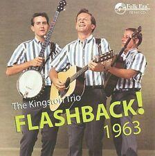 The Kingston Trio Flashback! 1963 - New/Sealed 2-Disc CD Set - Folk Era Records