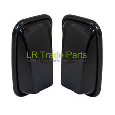 LAND ROVER DEFENDER 90 110 130 NEW GLOSS BLACK XS WING MIRRORS MIRROR HEADS X2