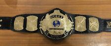 WWF WWE Classic Gold Winged Eagle Championship Belt Adult size Original Leather