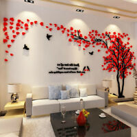 3D Tree Wall Art Stickers Removable Vinyl Decal Mural TV Background Home Decor