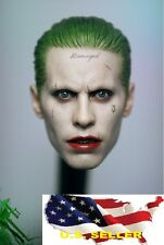 1/6 Joker Headsculpt Jared Leto Suicide Squad Batman hot toys phicen ❶IN STOCK❶