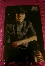 Infimite sungjong second invasion official Postcard Card Kpop K-pop