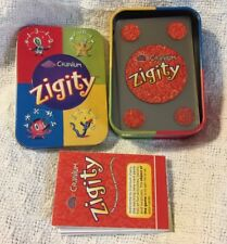 Cranium Zigity card game in collectible tin, complete