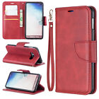 Red Premium Leather case cover with strap for Samsung iphone LG Sony MOTO Huawei