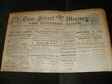DEAN FOREST MERCURY NEWSPAPER 15TH JANUARY 1932